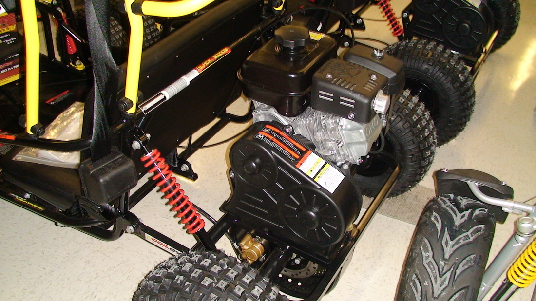 Black Widow Go-Kart (136cc LCT Engine or 169cc Subara Engine) - ATVs ...