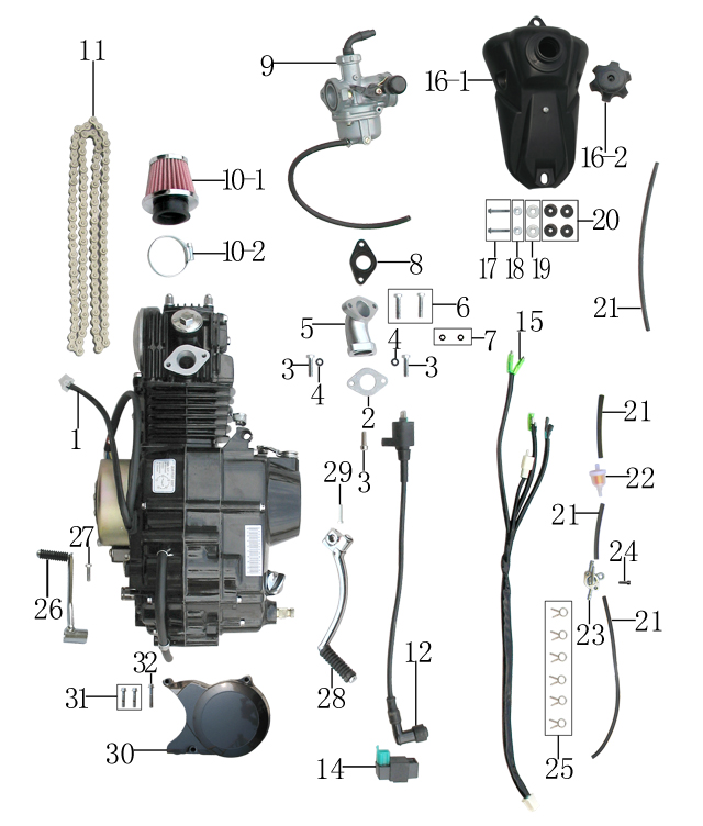 ___qg214f_engine downloads page atvs in acadiana (blaze powersports and outdoors coolster atv wiring diagram at soozxer.org